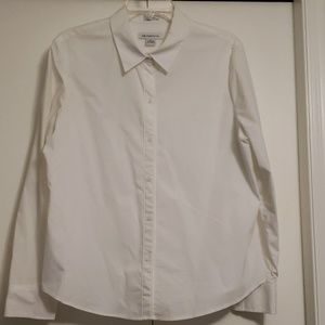 Liz Claiborne Women's white blouse sz XL